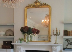 Late 19th Century French mirror